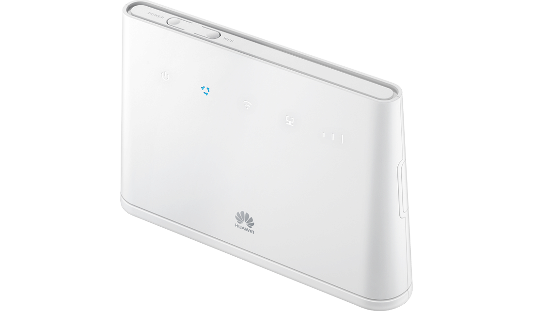 Router Huawei B310 LTE + powerbank