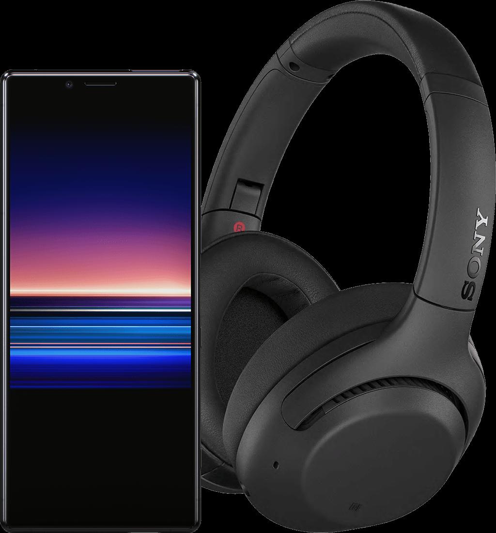 Sony Xperia 1 + WH-XB900