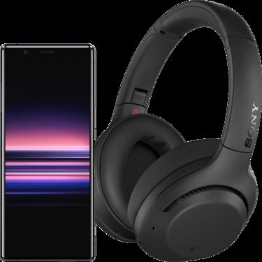 Sony Xperia 5 + słuchawki WH-XB900