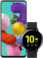Samsung Galaxy A51 + Samsung Galaxy Watch Active2 44 mm Aluminium
