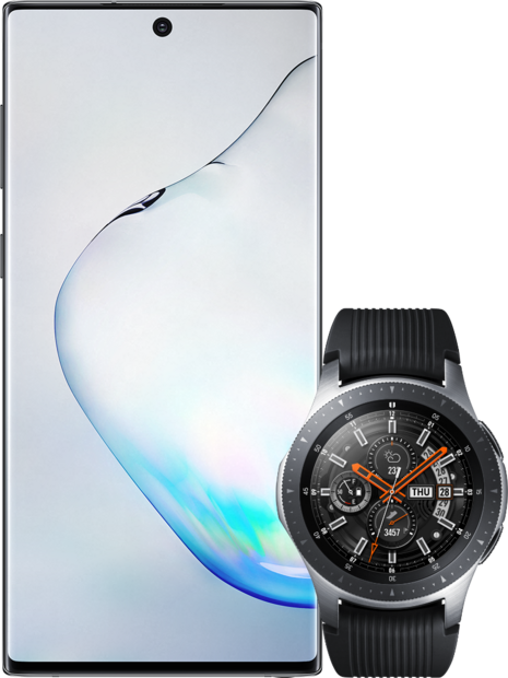 Samsung Galaxy Note 10 + Samsung R800N Galaxy Watch 46mm