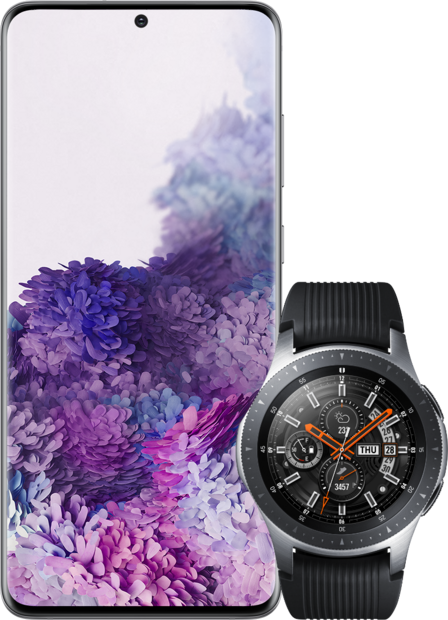 Samsung Galaxy S20+ 5G + Samsung Galaxy Watch 46mm