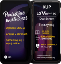 LG V60 ThinQ 5G + LG Dual Screen do LGV60