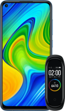Xiaomi Redmi Note 9 + Xiaomi Mi Band 4
