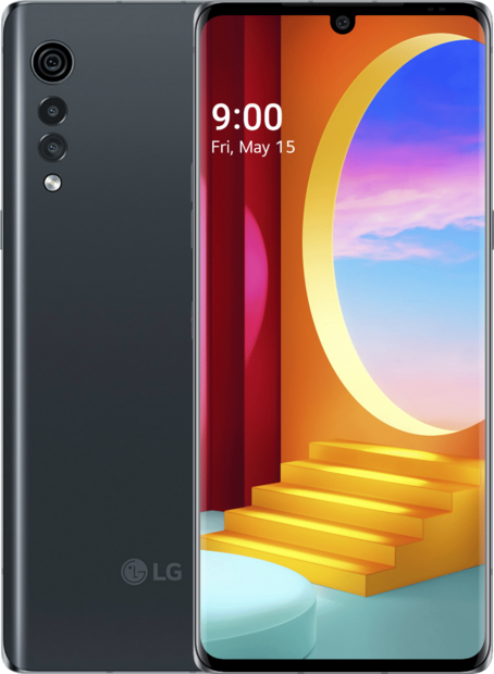 LG Velvet + LG TONE Flex XL7