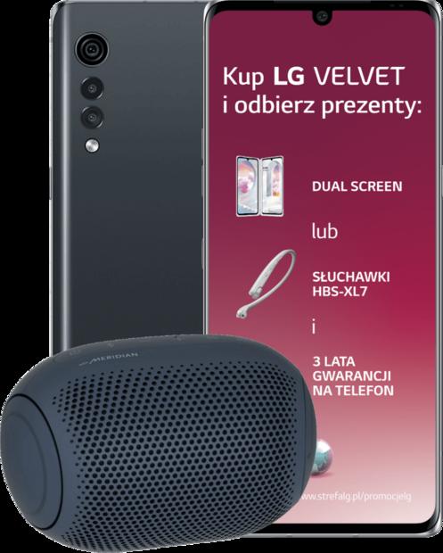 LG Velvet + LG XBOOM Go PL2