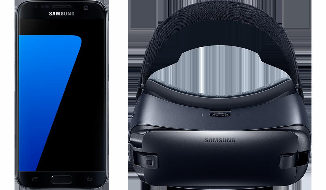 Samsung G930F Galaxy S7 + R323 Gear VR