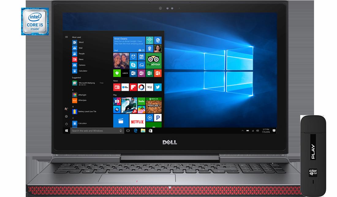 Laptop Dell Inspiron 7567 i5 + modem E3372