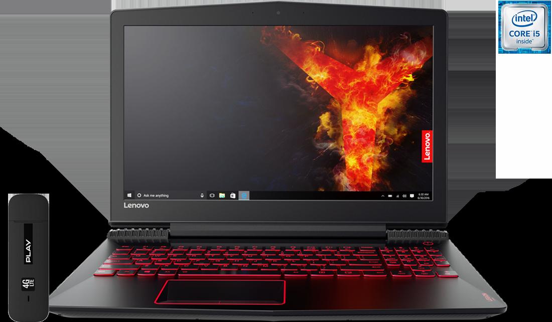 Laptop Lenovo Legion Y520 + Modem E3372