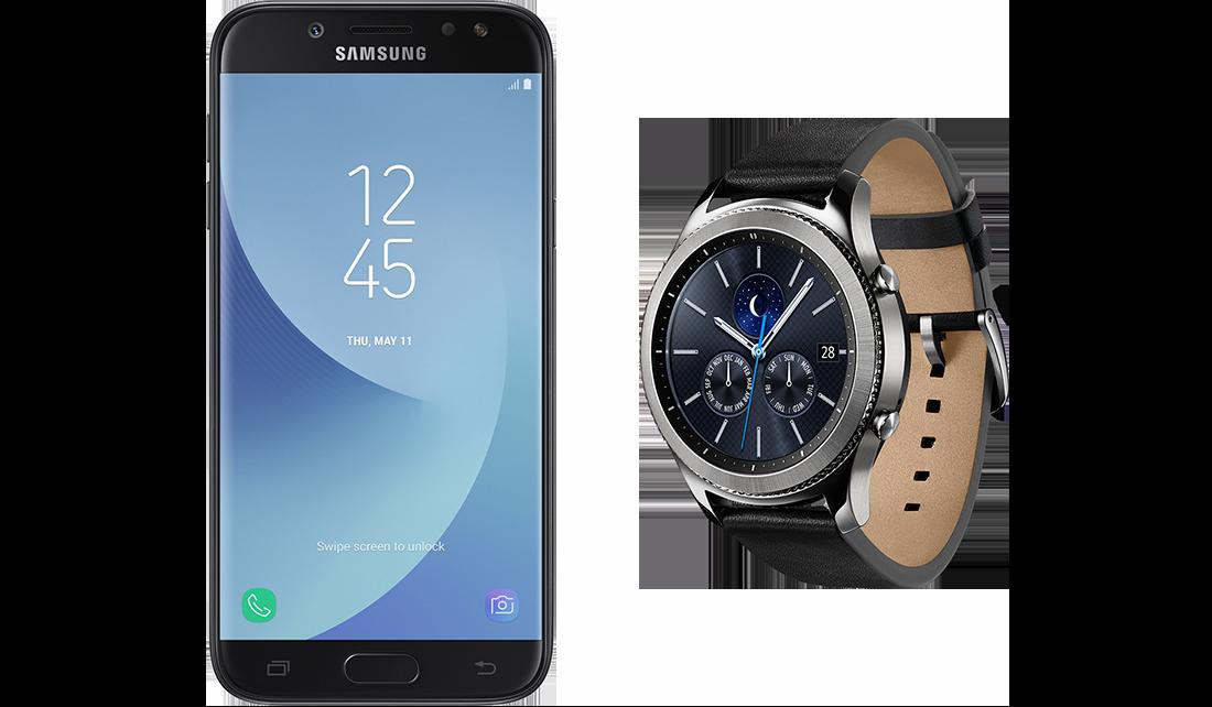 Samsung R770N Gear S3 Classic + J530F Galaxy J5 (2017) DS