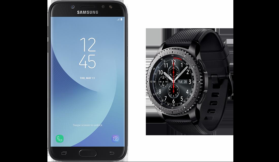 Samsung R760N Gear S3 Frontier + J530F Galaxy J5 (2017) DS
