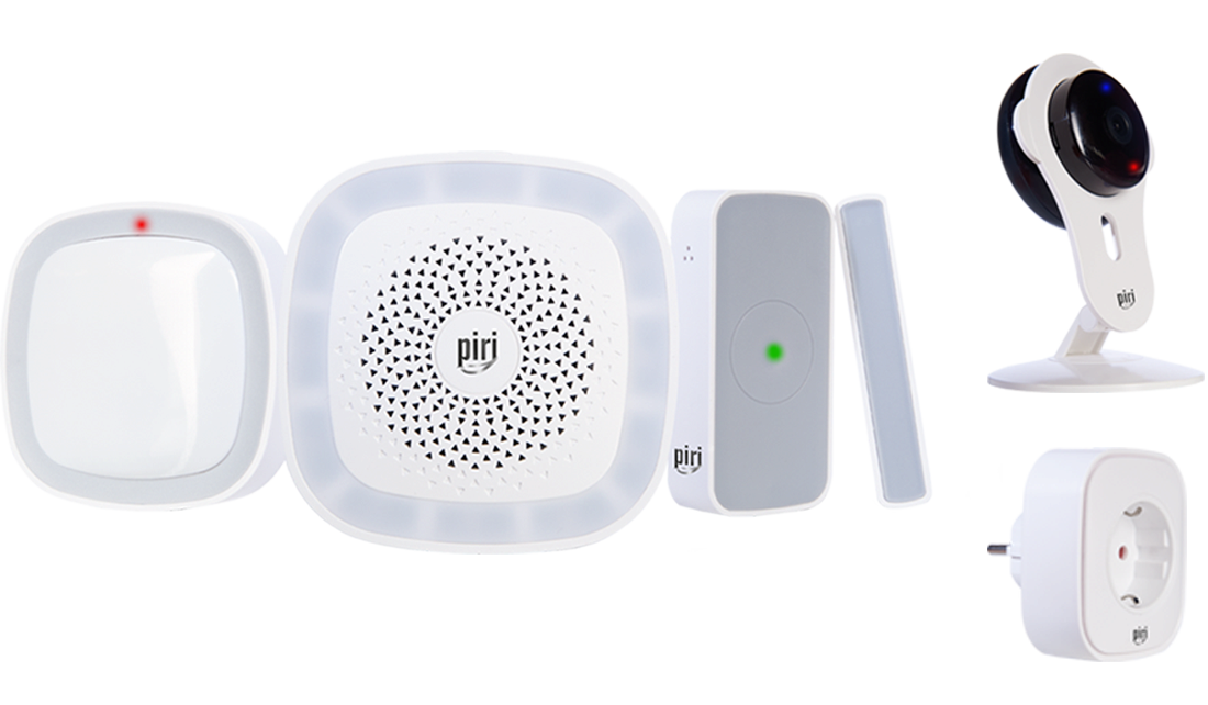 Piri Security Kit Smart
