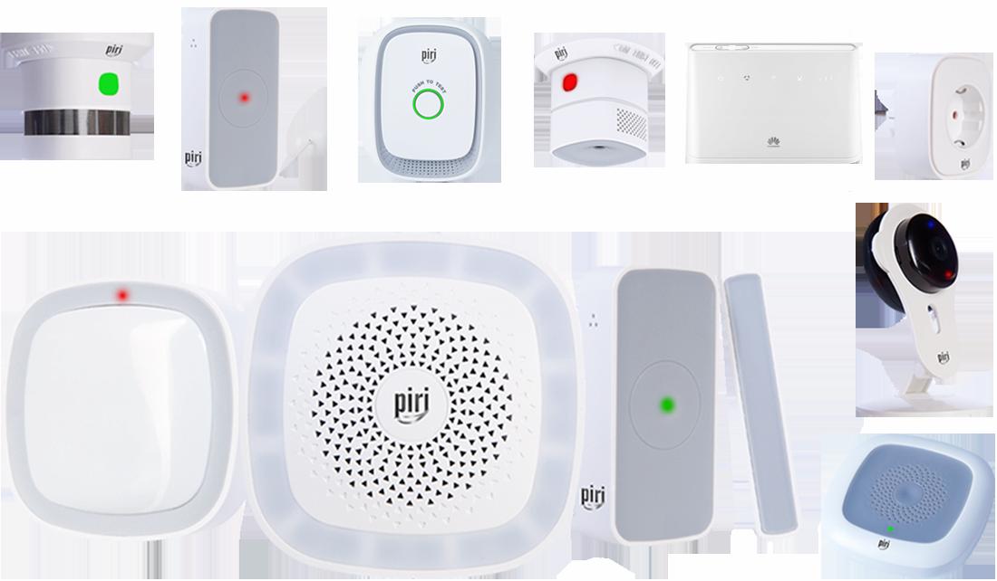 Piri Security Kit Maxi + router