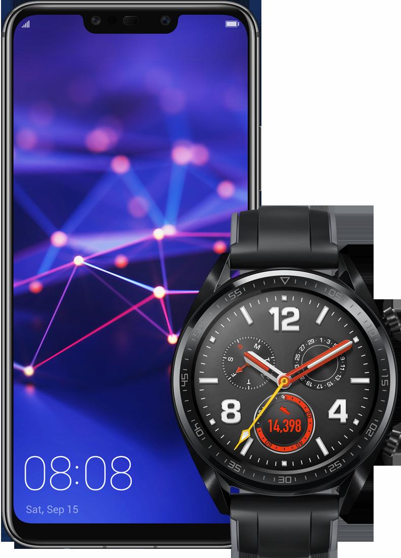 Huawei Watch GT + Mate 20 Lite