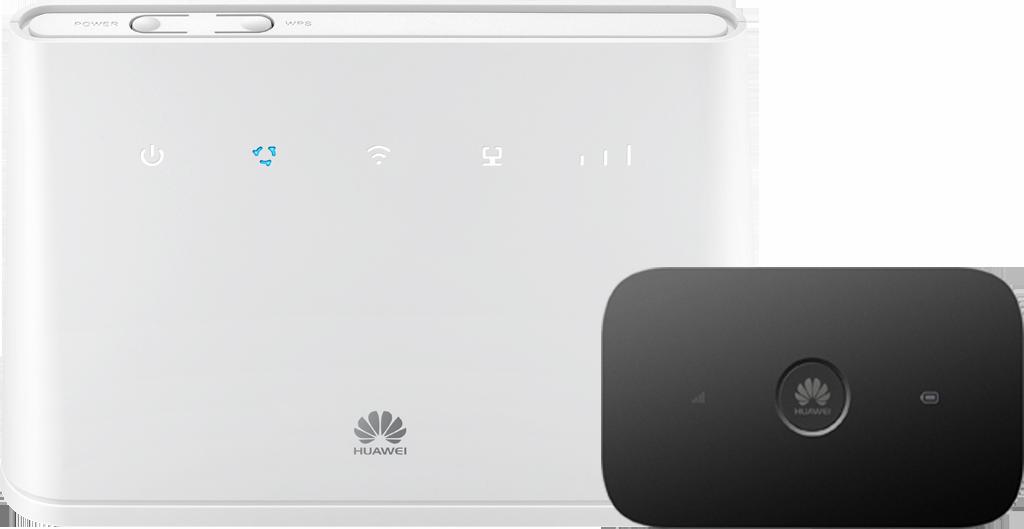 Router Huawei B311 LTE + Router E5573Cs LTE