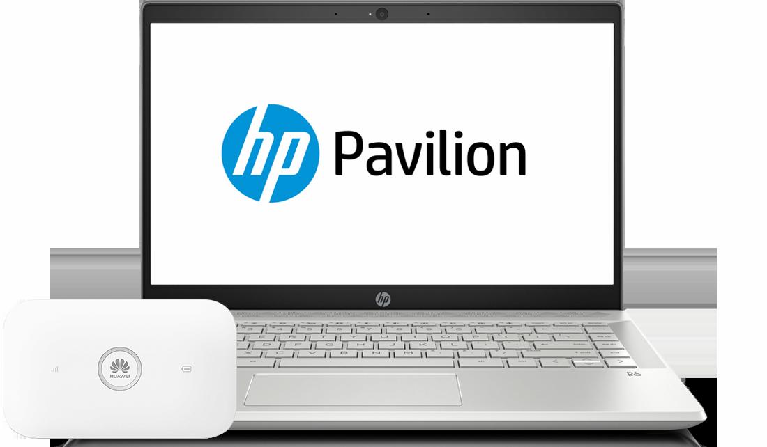 HP Pavilion 14 + Huawei E5573Cs