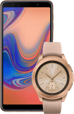 Samsung Galaxy A7 + Galaxy Watch 42mm