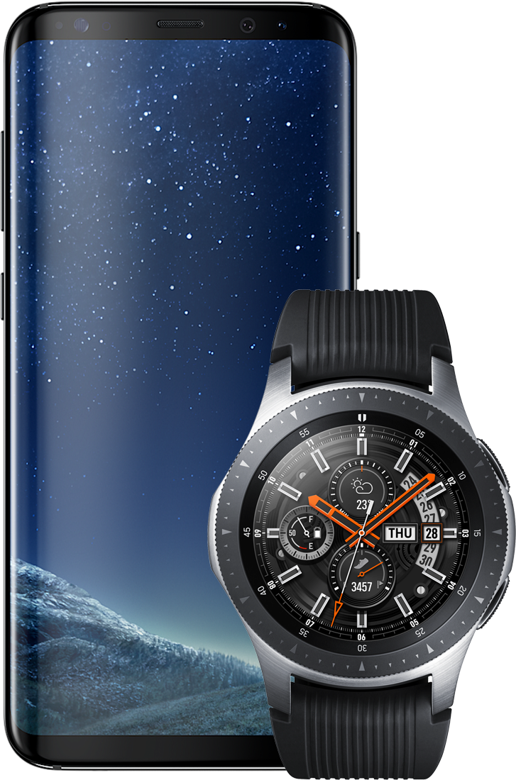 Samsung R800N Galaxy Watch 46mm + G950F Galaxy S8