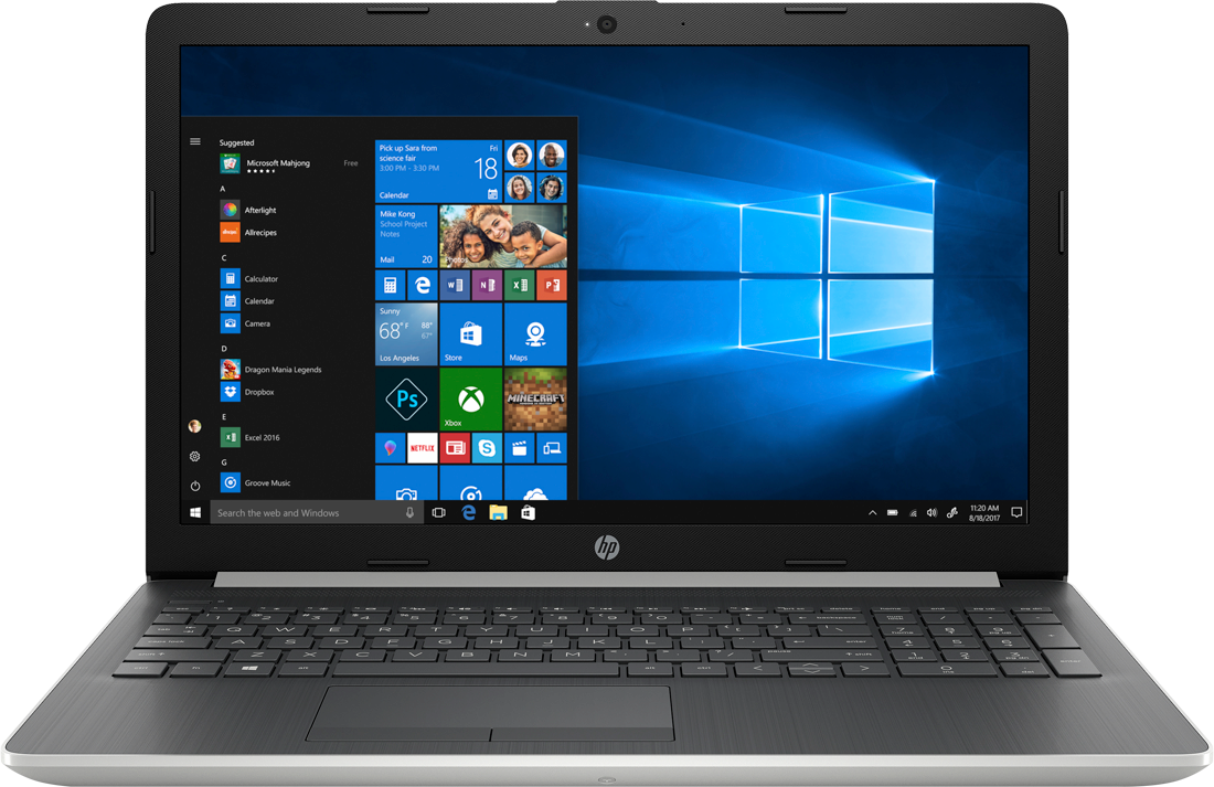 Laptop HP 15 +E5573c + torba HP