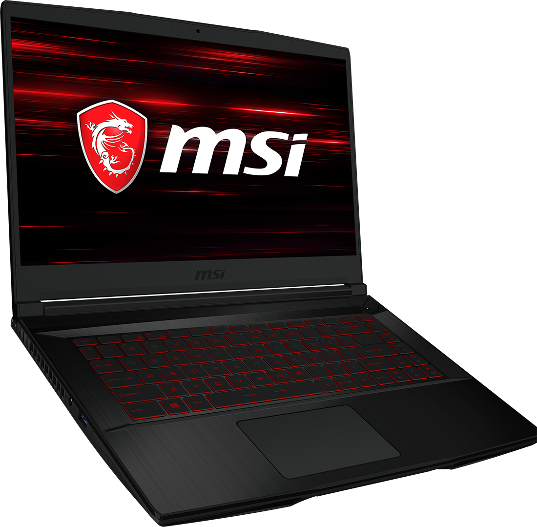 Laptop MSI GF63+router E5573Cs+myszkaMSI+słuchawkiMSI