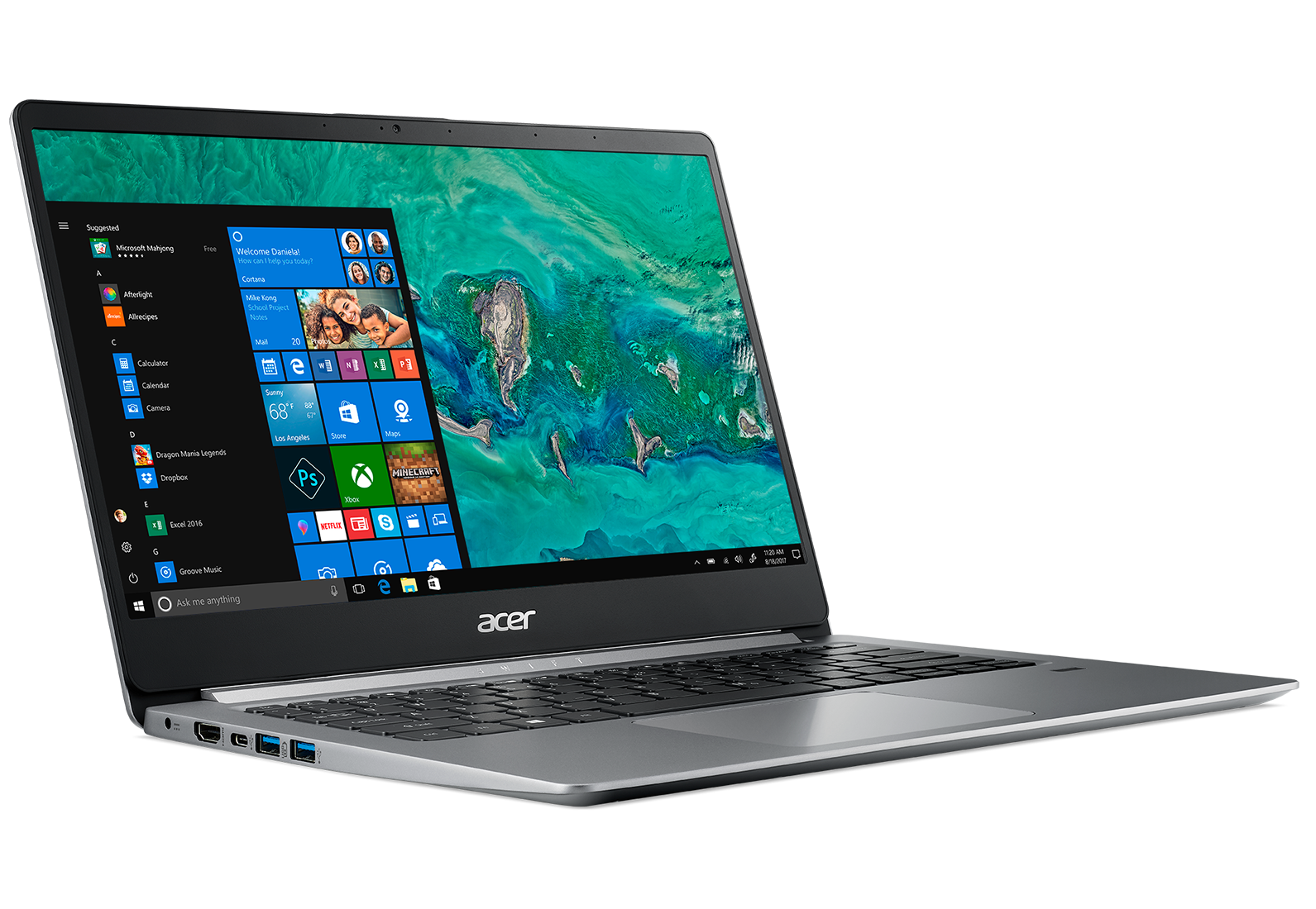 Laptop Acer Swift 1 SF114-32-P90V