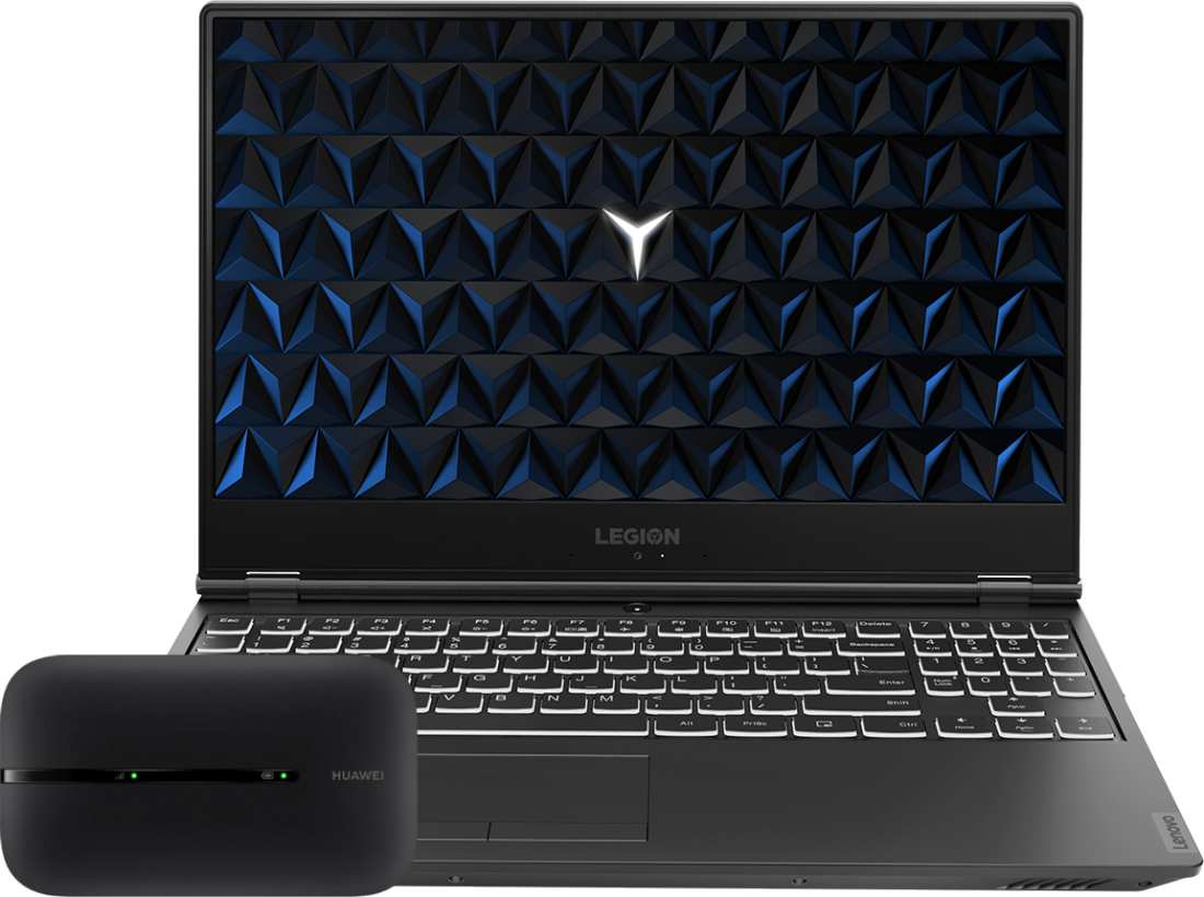 Laptop Lenovo Legion Y540-15 + router E5576