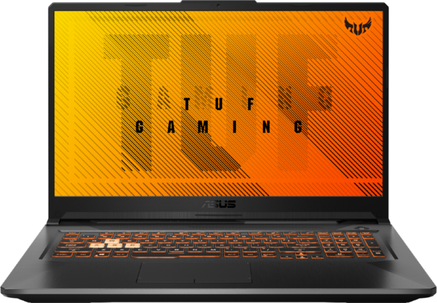 Laptop ASUS TUF Gaming A17 FA706II + router E5783