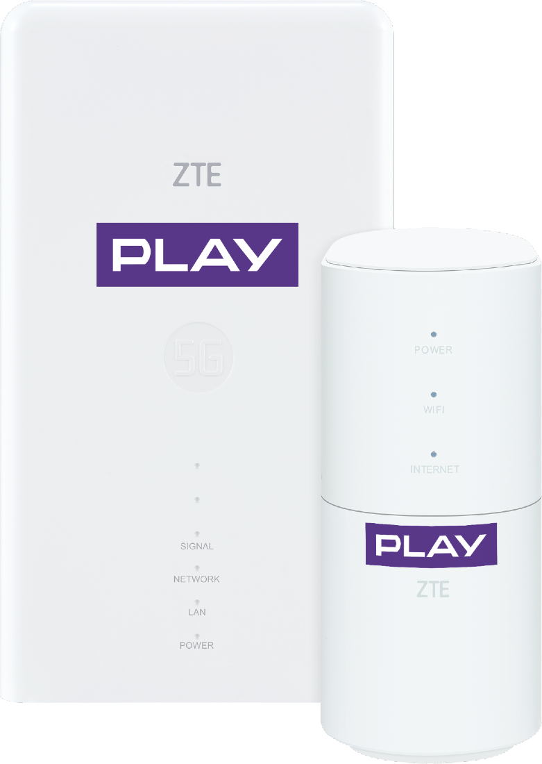 Router ZTE NETBOX 5G MC7010 + MF18A użyczenie